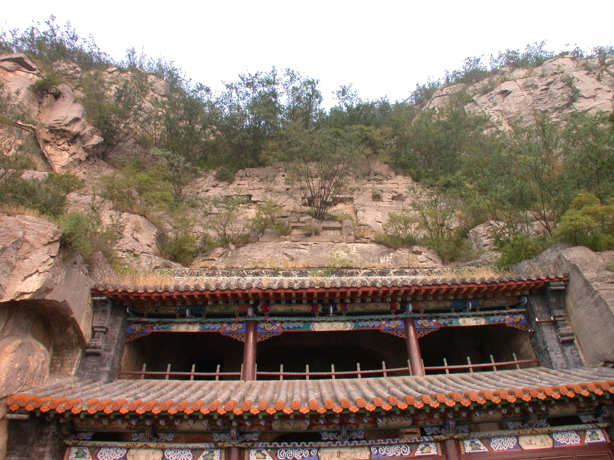 Xiangtangshan Middle Cave roof